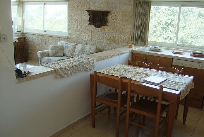 Abu-Tor 2 BR furnished Penthouse