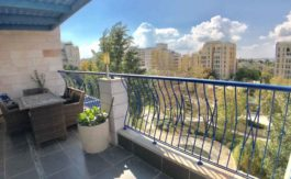 Arnona - 4 BR luxury penthouse fully furnished