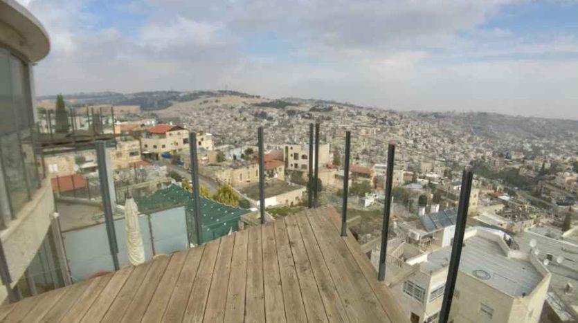 Abu-Tor - Amazing penthouse 2 BR